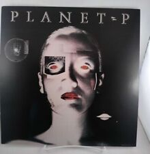 "Planet P Project s/t Record Store Promo poster flat 12""X12"" 1983 Geffen"