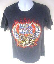 Rock of Ages World Tour 2012-2013 T-Shirt Dark Gray Size Medium Next Level