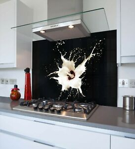 Printed Kitchen Glass Splashback - Toughened & Heat Resistant Cooker Panel 1030