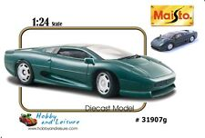 Maisto 31907 1/24th. Scale Jaguar X220 Green