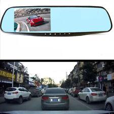 4inch 120° Cam Dash Camera Rear View Mirror Video Recorder Car DVR HD 720P Cam