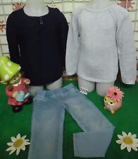 vêtements occasion fille 5 ans,pull,tunique,jeggings OKAIDI