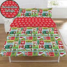 Linge de lit et ensembles rouge polaire pour chambre à coucher