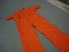 D.O.C. Inmate Jail Prisoner Convict Costume Prison Orange  Jumpsuit 2XL