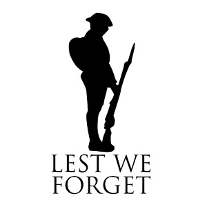 Lest We Forget Remembrance day rememberance window vinyl sticker decal poppy D