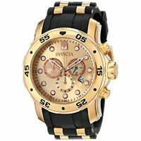 Invicta Men's Pro Diver 17884  Stainless Steel, Polyurethane Chronograph  Watch