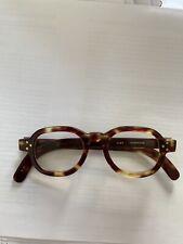 Cutler and Gross vintage Brown Tortoiseshell Glasses Frames 0289 - Original Case