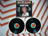 Vera Lynn Spotlight On Vera Lynn Double Vinyl UK 1979 PRT 1st Press 24 Track 2LP