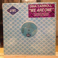 "[EDM]~SEALED 12""~DINA CARROLL~We Are One (Me Sienta Sola)~{x4 Mixes]~[1989~JIVE]"