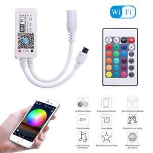 4pin Smart WiFi APP Controller for RGB LED Strip Light Alexa Google Home UK