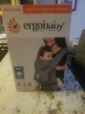 Ergobaby Original Multi Position Newborn to Toddler Baby Carrier Steel Plaid