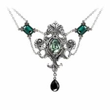 Alchemy Gothic Queen Of The Night Pewter Necklace BRAND NEW