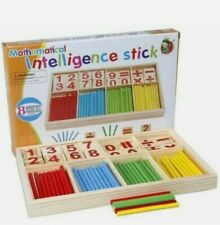 kids learning Math Counting Sticks Montessori Educational toy 🇬🇧 UK