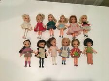 "Vintage 1965-1967 Hasbro Dolly Darlings 4"" Doll Lot Original Owner"
