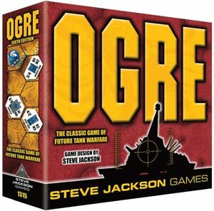 Ogre 6th Sixth Edition Steve Jackson Games Board War Game NEW SEALED