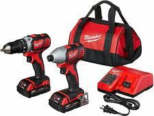 Milwaukee (2691-22)18-Volt Cordless Drill Driver/Impact Driver (Full Combo Kit)