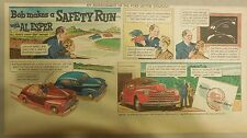 "Ford  Ad: ""Bob Makes a Safety Run with Al Esper""  from 1940's"