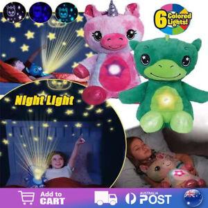 Star Belly Dream Lites Plush Toy Stuffed Animal Night Projector Kids Night Light