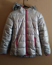 Girl's Falls Creek Silver Winter Coat Size 10/12