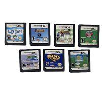 Kids Nintendo DS Game Bundle Of 7: My Sims, Wild Petz DolphinZ Drake Josh & More