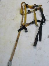 Titan Miller Aerial Lift Fall Protection Safety Harness With 6ft Shock Lanyard
