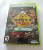 Monster Madness: Battle for Suburbia (Microsoft Xbox 360, 2007)   FAST SHIPPING