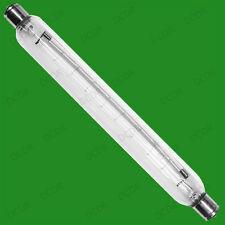 25 x 60w 221mm Transparente Doble Terminal Tapón Tubular Lámpara, S15 Lineal