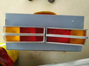 HOLDEN LH LX TORANA TAIL LIGHTS  X 2  SILVER IN COLOUR SS SLR A9X  genuine