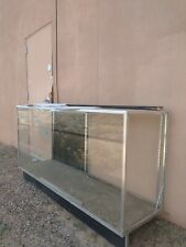 Glass Countertop Display Case Fixture Showcase With Front Lock Sc Kdtop