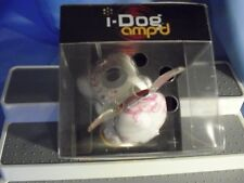 NEW I-DOG AMP'D WHITE WITH PINK FLOWERS,,