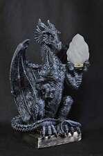 DRACHEN DRAGON LEUCHTE LAMPE TISCHLAMPE GOTHIC DECO FIGUR