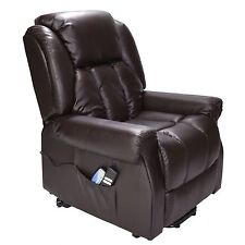 Hainworth Dual Motor riser recliner chair with heat and massage FREE HOME SET-UP