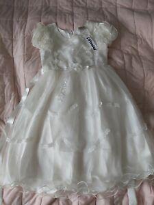 Helen Garment Girl 8-9 9 Years White Party Princess Dress