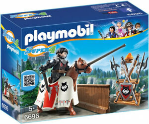 Playmobil 6696 Super 4Rypan Wache des schwarzen Barons Ritterturnier Neu OVP