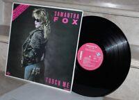 Lp. Samantha Fox - touch me (1986)