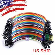 40pcs 10cm Male To Female Dupont Wire Jumper Cable for Arduino Breadboard
