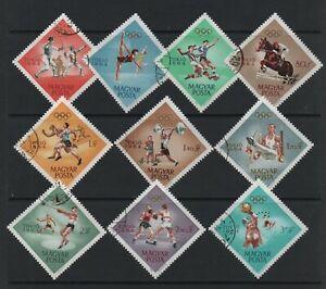 HUNGARY 1964 OLYMPIC GAMES, TOKYO (SG1999/2008) *VFU/CTO*