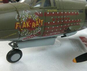 """Armour Franklin Mint, Martin B26B-25-MA, """"Flak Bait"""" Record 207 Combat Missions"""