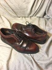 Donald J. Pliner Burgundy Sz 7.5 M Mens EVEB-SXSX Gently Worn Excellent Shoes
