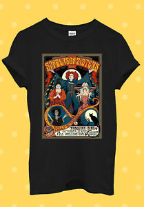 C156 Sanderson Sisters Retro Hocus Pocus T Shirt