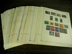 ANTIGUA,Excellent MINT(most NH)  Stamp Collection mounted on Scott International