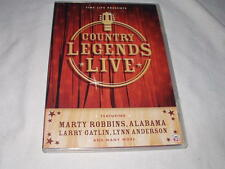 Country Legends Live/Time-Life DVD Marty Robbins Alabama Oak Ridge Boys Conway+