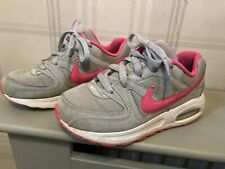 Girls NikeAir Max Trainers Pink & Grey Size 1.5