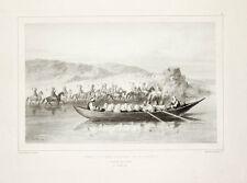 1838 Orient Harem Balkan Orient Türken turcica Lithographie Bry Raffet
