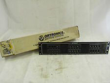 ORTRONICS OR-808044321 V QUAD 24 PORT PATCH PANEL ***NIB***
