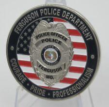 2014 Ferguson Riots Police Department  Challenge Coin