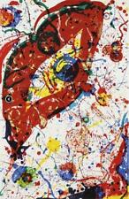 """SAM FRANCIS, """"Untitled"""" Lithograph SF-331 Hand Signed and numbered"""