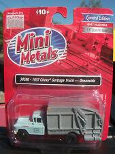 Classic Metal Works HO 30590 1957 Chevrolet Garbage Truck Oceanside Mini Metals