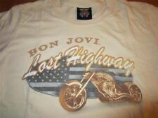 Bon Jovi Lost Highway 2007 World Music Tour T Shirt Shirts M youth