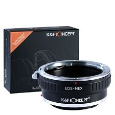K&F Concept Canon Eos EF Lens to Sony Alpha Nex E-mount Camera Adapter EOS-NEX